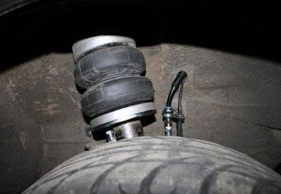 Priora front suspension