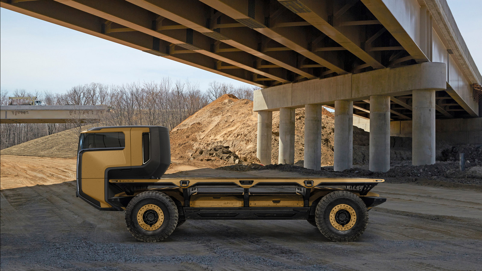 General Motors разработал автономный грузовик