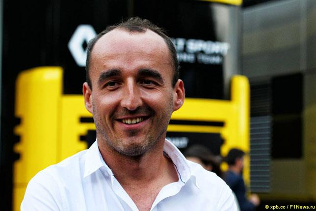 Роберт Кубица отработал день на тестах в Венгрии