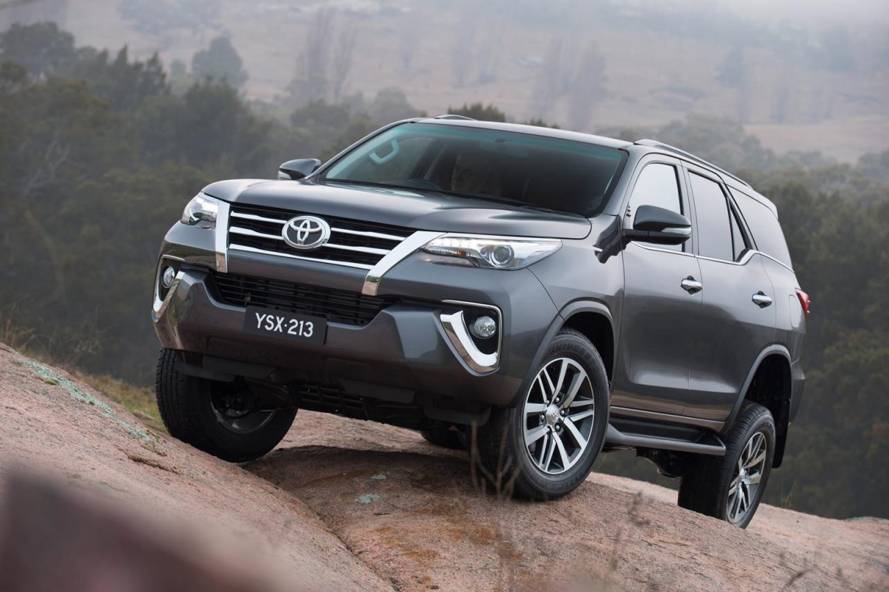 Toyota Fortuner: названы цены для российского рынка