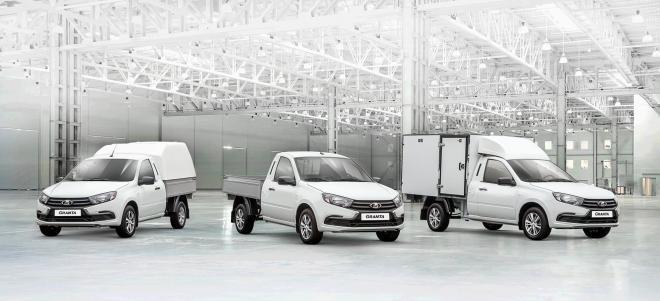 Обновленная LADA Granta обрела грузовые версии