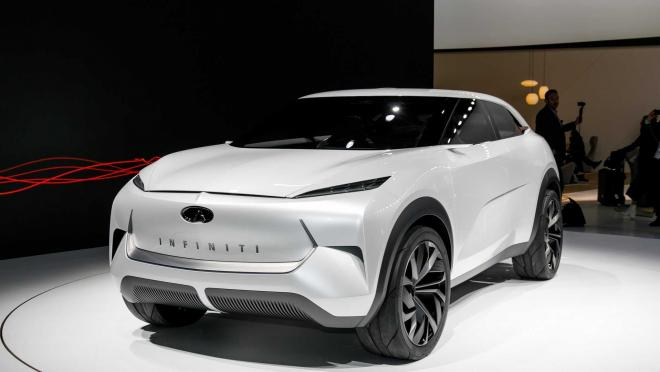 Концепт Infiniti QX Inspiration анонсирует электрическое будущее бренда
